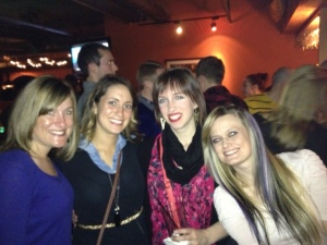 These are my some of my fav grad school girls. Love them!