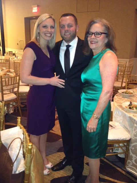 Erika, Jake, and Cheryl, all looking amazing!