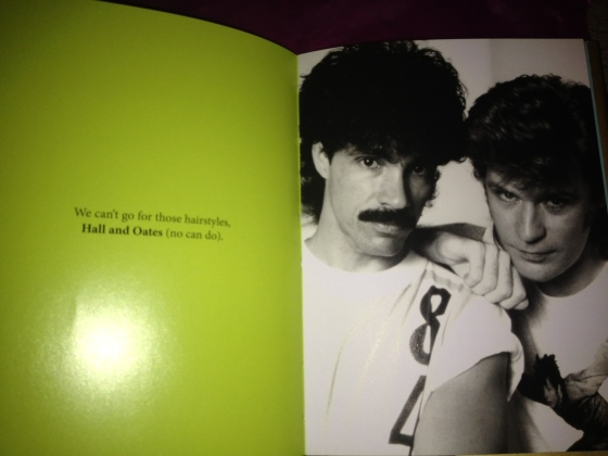 No, no, Hall & Oates can't go for that.