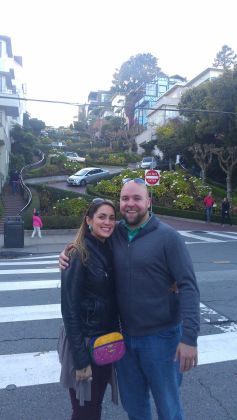 curves for days at Lombard St