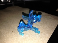hello little plastic donkey. I liked you so I took a picture of you. You were on my Moscow Mule. Get it?
