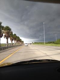 Dark clouds rolling in