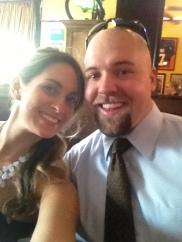 Selfie Saturday for Beau and Lauren's wedding, Aug 2013