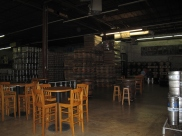 Red Brick Brewing Company warehouse