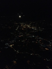 nighttime from the sky