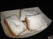 beignets. Yum in my tum.