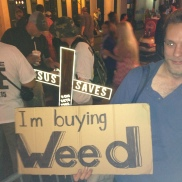 Choose Life and Choose Weed. Seems appropriate on Bourbon St.