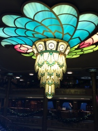 Gorgeous light fixture on board