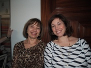 my beautiful mom and sister