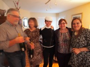 blurry family love