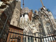 new section of la Sagrada Familia