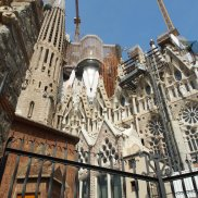 new section of la Sagrada Familia