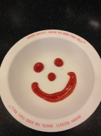 Johnny Rockets' happy face in B-more