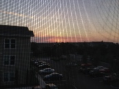 sunsets through screens