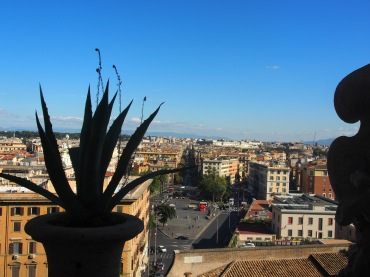 view from the Vatican Museum