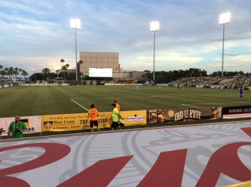 Rowdies home opener