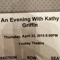 An Evening with Kathy Griffin!