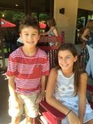 Drew and Caroline
