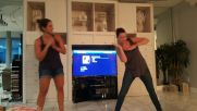dance party USA in the living room, y'all