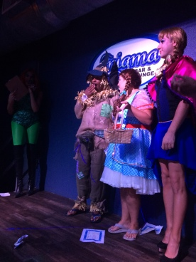 costume contest at Enigma