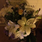 my flowers from Timmy