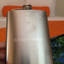 our flask, aptly named