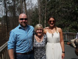 my future mother in law with the couple