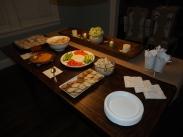 the food spread