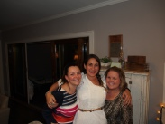 Lindsey and Heather, my bridesmaids