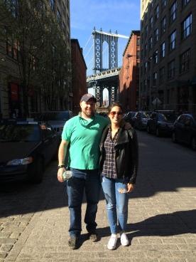 under the Manhattan Bridge (kinda)
