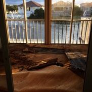 Our deck had the most disgusting, soggy, nasty carpet over beautiful wood. It almost killed us removing the plywood underneath the carpet.